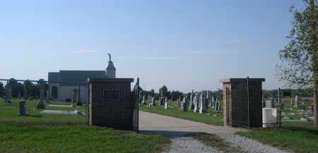 *ST. MICHAEL CEMETERY, ENTRANCE TO - Cuming County, Nebraska   ENTRANCE TO *ST. MICHAEL CEMETERY - Nebraska Gravestone Photos