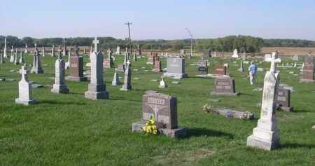 *ST MICHAEL CEMETERY, VIEW OF - Cuming County, Nebraska   VIEW OF *ST MICHAEL CEMETERY - Nebraska Gravestone Photos