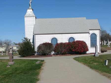 *ST. MICHAEL CEMETERY, VIEW OF CHURCH - Cuming County, Nebraska | VIEW OF CHURCH *ST. MICHAEL CEMETERY - Nebraska Gravestone Photos