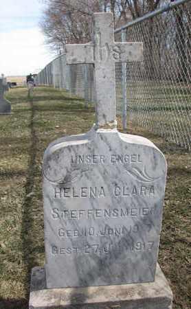 STEFFENSMEIER, HELENA CLARA - Cuming County, Nebraska | HELENA CLARA STEFFENSMEIER - Nebraska Gravestone Photos
