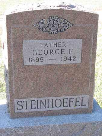 STEINHOEFEL, GEORGE F. - Cuming County, Nebraska   GEORGE F. STEINHOEFEL - Nebraska Gravestone Photos