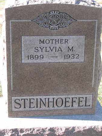 STEINHOEFEL, SYLVIA M. - Cuming County, Nebraska   SYLVIA M. STEINHOEFEL - Nebraska Gravestone Photos