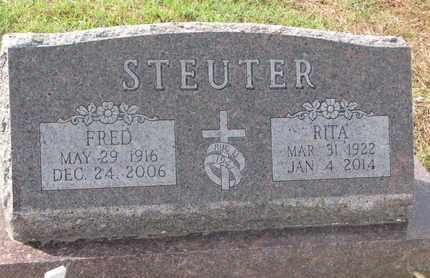 STEUTER, RITA - Cuming County, Nebraska   RITA STEUTER - Nebraska Gravestone Photos