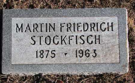 STOCKFISCH, MARTIN FRIEDRICH - Cuming County, Nebraska   MARTIN FRIEDRICH STOCKFISCH - Nebraska Gravestone Photos