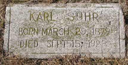 SUHR, KARL - Cuming County, Nebraska | KARL SUHR - Nebraska Gravestone Photos