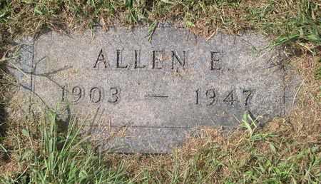 SULLIVAN, ALLEN E. - Cuming County, Nebraska | ALLEN E. SULLIVAN - Nebraska Gravestone Photos