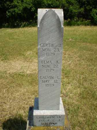 SULLIVAN, CALVIN L - Cuming County, Nebraska | CALVIN L SULLIVAN - Nebraska Gravestone Photos