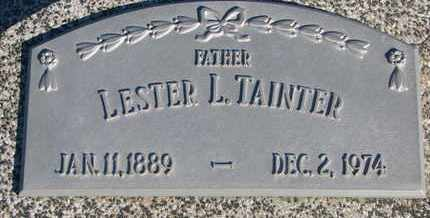 TAINTER, LESTER L. - Cuming County, Nebraska | LESTER L. TAINTER - Nebraska Gravestone Photos