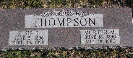 THOMPSON, ELSIE E. - Cuming County, Nebraska | ELSIE E. THOMPSON - Nebraska Gravestone Photos