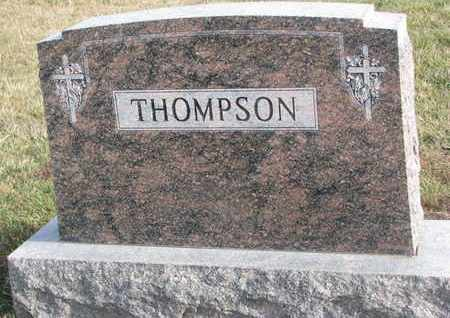 THOMPSON, (FAMILY MONUMENT) - Cuming County, Nebraska | (FAMILY MONUMENT) THOMPSON - Nebraska Gravestone Photos