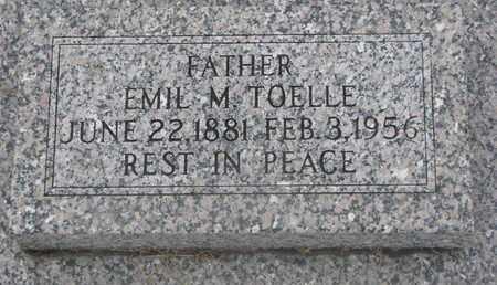TOELLE, EMIL M. - Cuming County, Nebraska | EMIL M. TOELLE - Nebraska Gravestone Photos