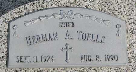 TOELLE, HERMAN A. - Cuming County, Nebraska | HERMAN A. TOELLE - Nebraska Gravestone Photos