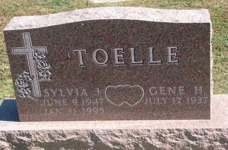 TOELLE, GENE H. - Cuming County, Nebraska | GENE H. TOELLE - Nebraska Gravestone Photos
