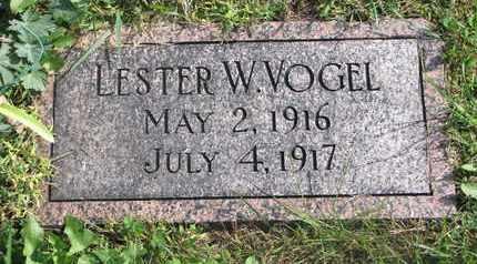 VOGEL, LESTER W. - Cuming County, Nebraska | LESTER W. VOGEL - Nebraska Gravestone Photos