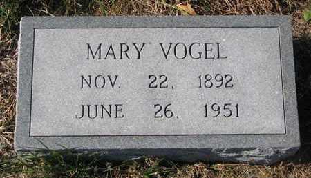 VOGEL, MARY - Cuming County, Nebraska | MARY VOGEL - Nebraska Gravestone Photos