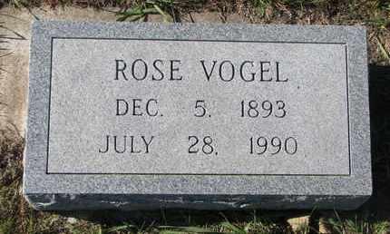 VOGEL, ROSE - Cuming County, Nebraska | ROSE VOGEL - Nebraska Gravestone Photos