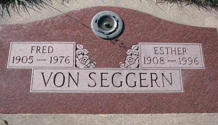 VON SEGGERN, FRED - Cuming County, Nebraska | FRED VON SEGGERN - Nebraska Gravestone Photos
