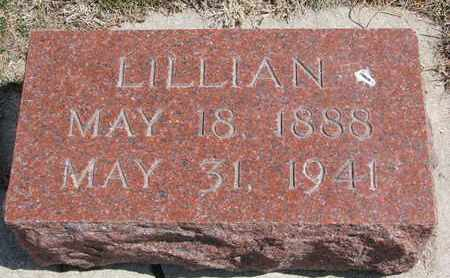 VONSEGGERN, LILLIAN - Cuming County, Nebraska | LILLIAN VONSEGGERN - Nebraska Gravestone Photos