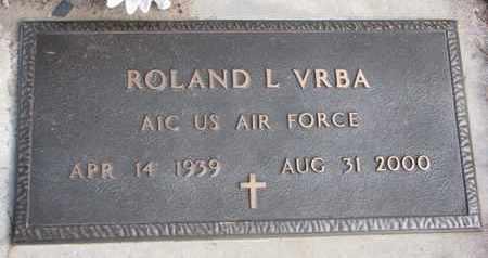 VRBA, ROLAND L. - Cuming County, Nebraska | ROLAND L. VRBA - Nebraska Gravestone Photos