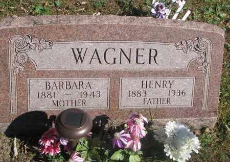 WAGNER, BARBARA - Cuming County, Nebraska | BARBARA WAGNER - Nebraska Gravestone Photos