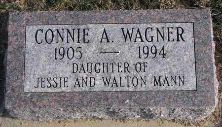 WAGNER, CONNIE A. - Cuming County, Nebraska | CONNIE A. WAGNER - Nebraska Gravestone Photos