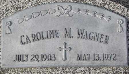 WAGNER, CAROLINE M. - Cuming County, Nebraska | CAROLINE M. WAGNER - Nebraska Gravestone Photos