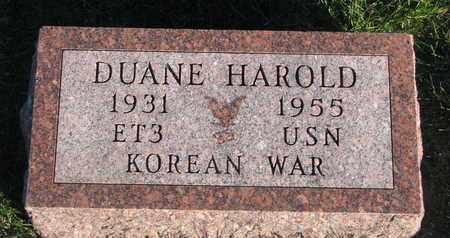 WAGNER, DUANE HAROLD - Cuming County, Nebraska | DUANE HAROLD WAGNER - Nebraska Gravestone Photos