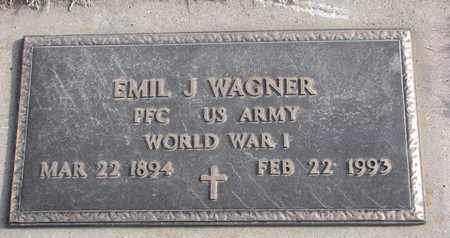 WAGNER, EMIL J. (MILITARY MARKER) - Cuming County, Nebraska | EMIL J. (MILITARY MARKER) WAGNER - Nebraska Gravestone Photos