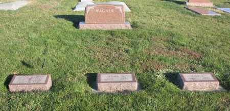 WAGNER, FAMILY PLOT - Cuming County, Nebraska | FAMILY PLOT WAGNER - Nebraska Gravestone Photos