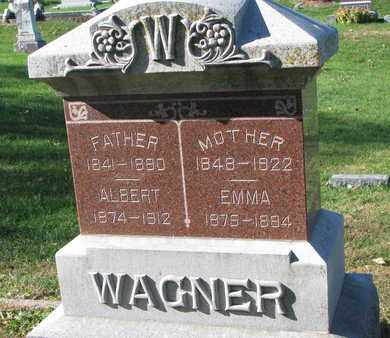 WAGNER, MOTHER - Cuming County, Nebraska | MOTHER WAGNER - Nebraska Gravestone Photos