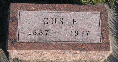 WAGNER, GUS - Cuming County, Nebraska | GUS WAGNER - Nebraska Gravestone Photos