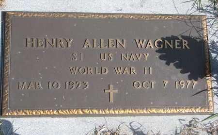 WAGNER, HENRY ALLEN - Cuming County, Nebraska   HENRY ALLEN WAGNER - Nebraska Gravestone Photos