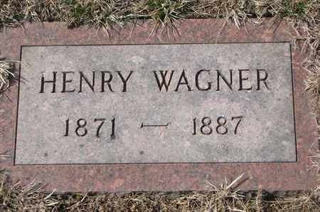 WAGNER, HENRY - Cuming County, Nebraska | HENRY WAGNER - Nebraska Gravestone Photos
