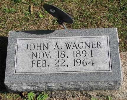 WAGNER, JOHN A. - Cuming County, Nebraska   JOHN A. WAGNER - Nebraska Gravestone Photos