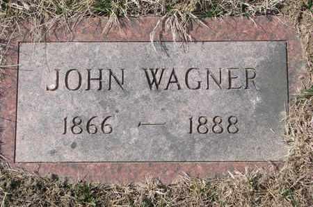 WAGNER, JOHN - Cuming County, Nebraska | JOHN WAGNER - Nebraska Gravestone Photos
