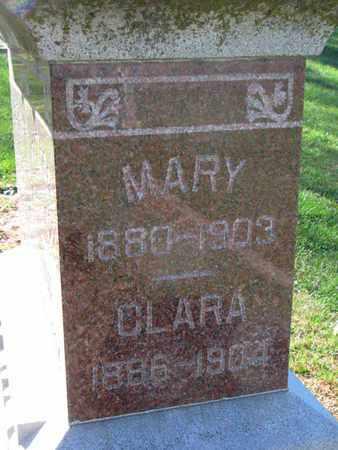 WAGNER, CLARA - Cuming County, Nebraska | CLARA WAGNER - Nebraska Gravestone Photos