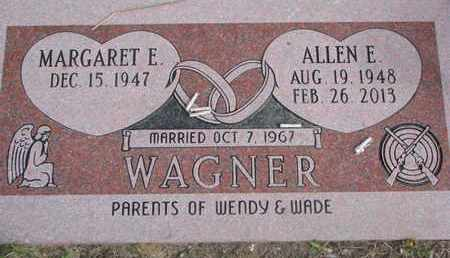WAGNER, MARGARET E. - Cuming County, Nebraska | MARGARET E. WAGNER - Nebraska Gravestone Photos