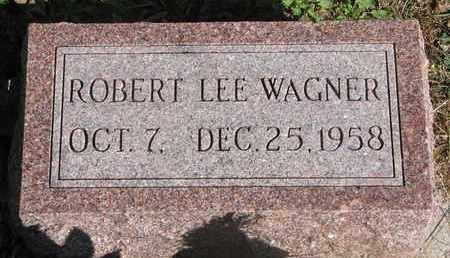 WAGNER, ROBERT LEE - Cuming County, Nebraska   ROBERT LEE WAGNER - Nebraska Gravestone Photos