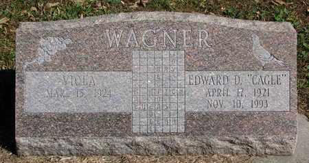 WAGNER, VIOLA - Cuming County, Nebraska | VIOLA WAGNER - Nebraska Gravestone Photos