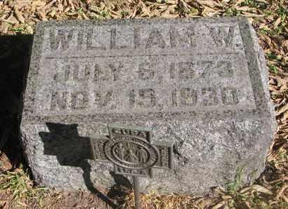 WAGNER, WILLIAM W. - Cuming County, Nebraska | WILLIAM W. WAGNER - Nebraska Gravestone Photos