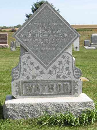 WATSON, INFANT DAU. - Cuming County, Nebraska | INFANT DAU. WATSON - Nebraska Gravestone Photos
