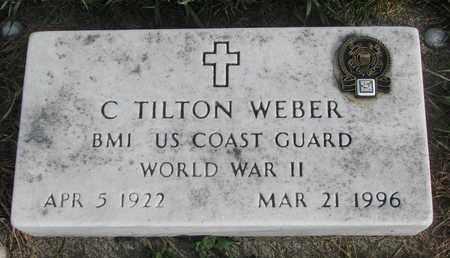 WEBER, C. TILTON - Cuming County, Nebraska | C. TILTON WEBER - Nebraska Gravestone Photos