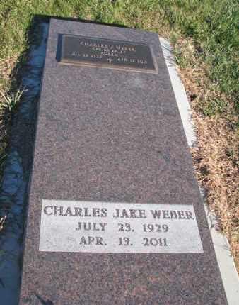 WEBER, CHARLES JAKE - Cuming County, Nebraska | CHARLES JAKE WEBER - Nebraska Gravestone Photos