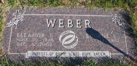 WEBER, ELEANOR J. - Cuming County, Nebraska | ELEANOR J. WEBER - Nebraska Gravestone Photos