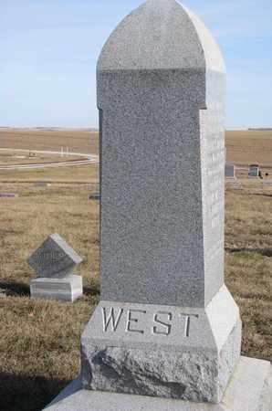 WEST, RUTH FRANCES - Cuming County, Nebraska | RUTH FRANCES WEST - Nebraska Gravestone Photos