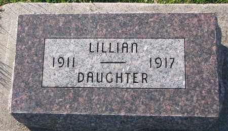 WESTERGARD, LILLIAN - Cuming County, Nebraska | LILLIAN WESTERGARD - Nebraska Gravestone Photos