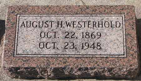 WESTERHOLD, AUGUST H. - Cuming County, Nebraska | AUGUST H. WESTERHOLD - Nebraska Gravestone Photos