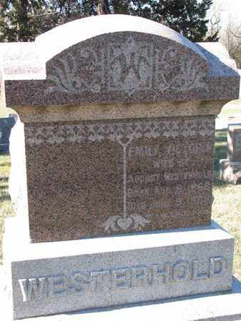 WESTERHOLD, EMILY VICTORIA - Cuming County, Nebraska   EMILY VICTORIA WESTERHOLD - Nebraska Gravestone Photos
