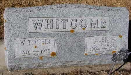 "WHITCOMB, W.T. ""TED"" - Cuming County, Nebraska | W.T. ""TED"" WHITCOMB - Nebraska Gravestone Photos"