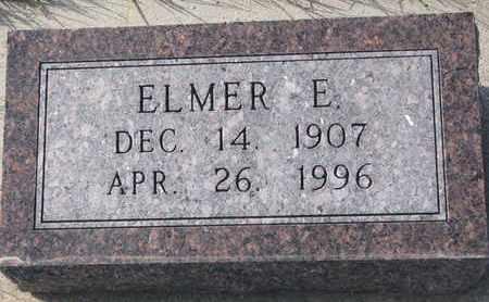 WHITE, ELMER E. - Cuming County, Nebraska | ELMER E. WHITE - Nebraska Gravestone Photos